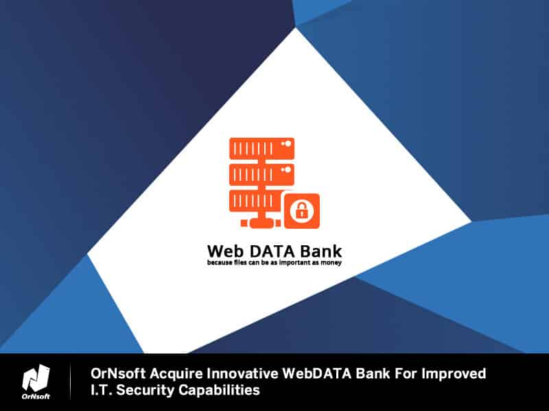 ornsoft-acquires-webDATA-Bank