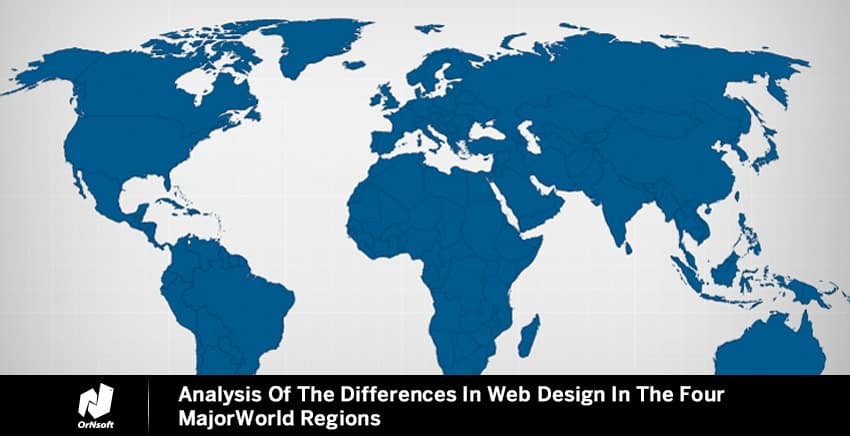 Analysis Of The Differences In Web Design In The Four Major World Regions